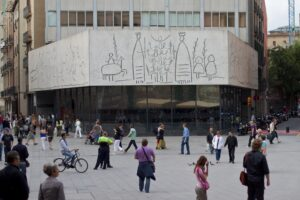 footsteps of Picasso in Barcelona