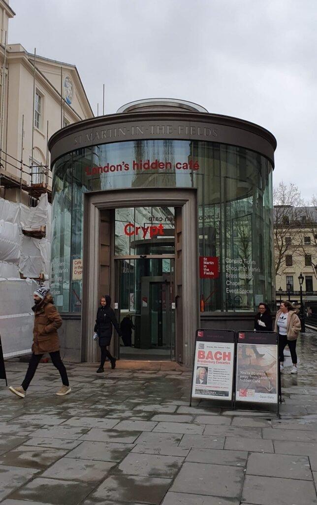 London hidden cafe