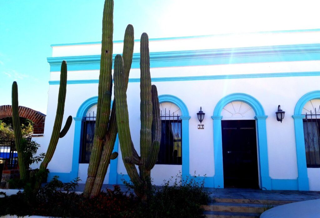 One of Mexican small colonial towns named Todos Santo