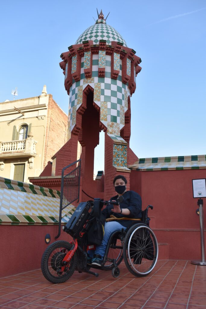traveller with reduced mobility