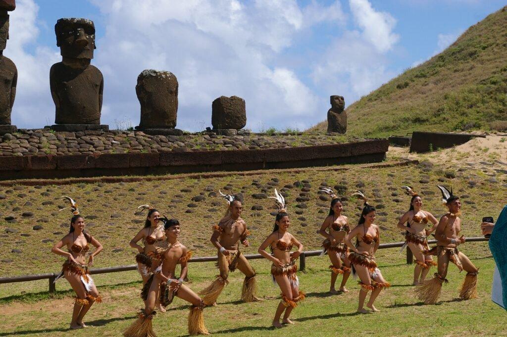 Easter Island tribal dance