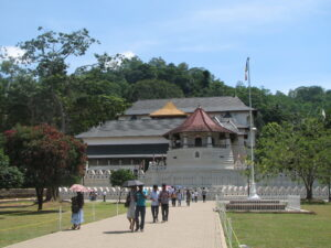 Sacred Temple of Tooth in Kandy