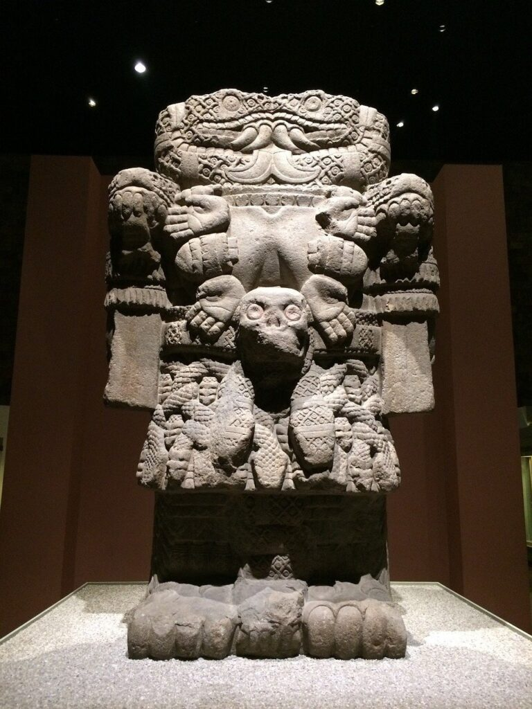 Piece of one of the Latin american museums